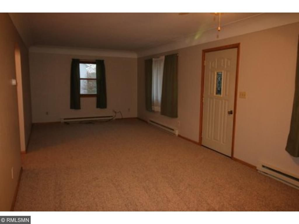 The living room/dining room is expansive with plenty of room for your living room furniture and dining set.