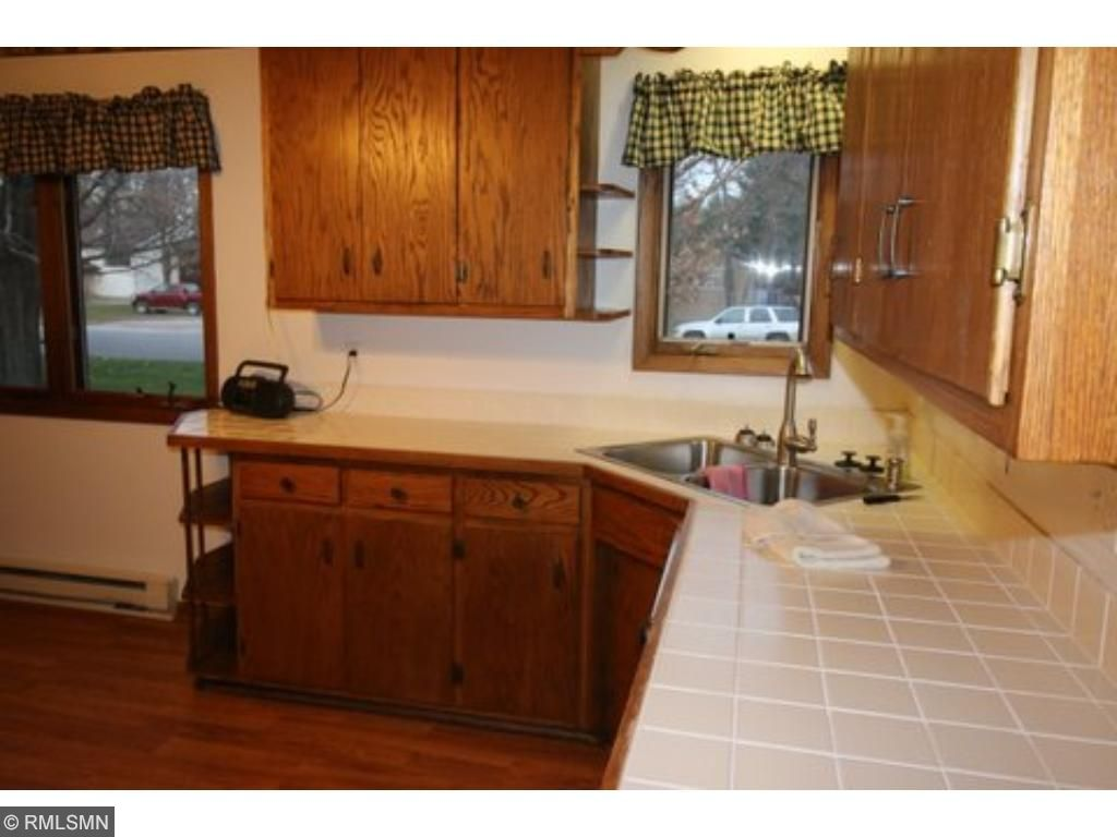 Lots of room here for an eat-in kitchen table with a view of the front yard.