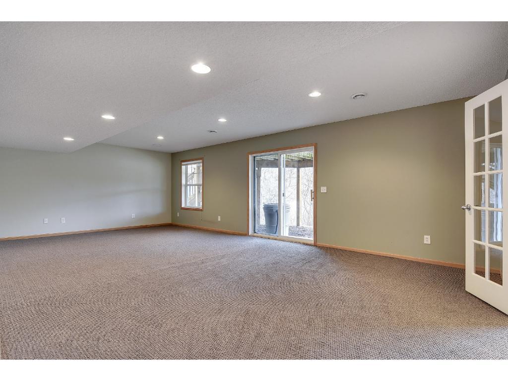 Open basement with full walkout.