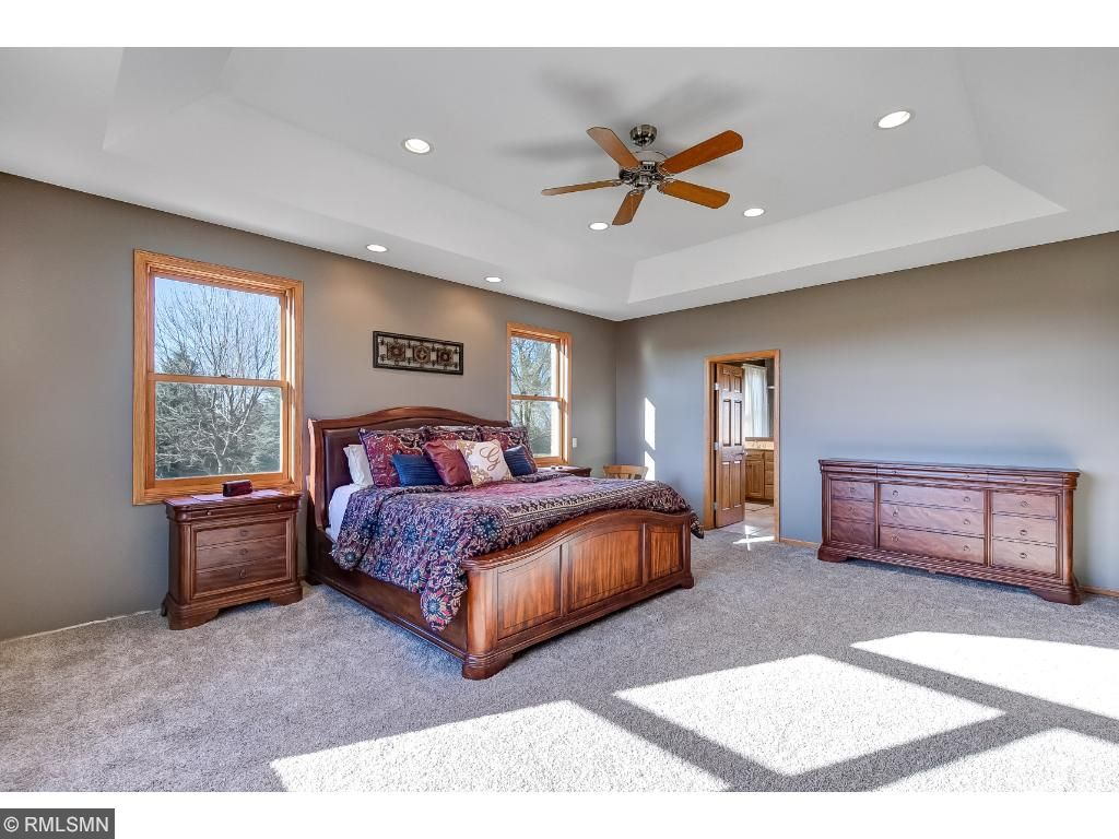 Master Bedroom. Tons of natural light.