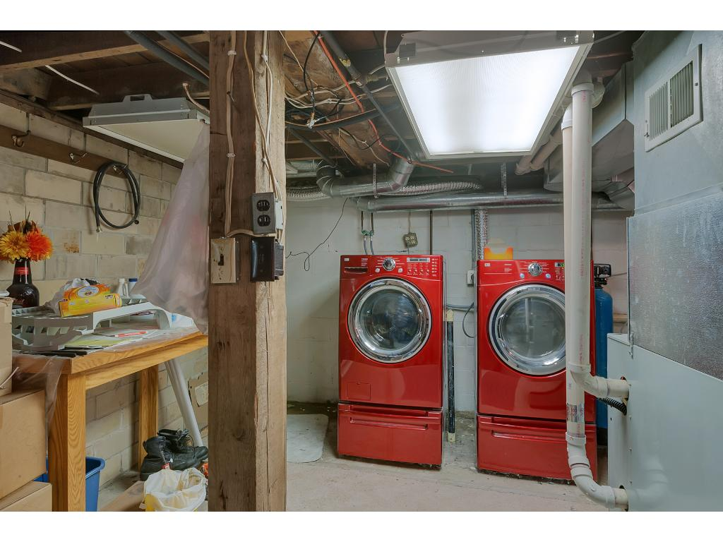 The lower level offers a nice laundry area with upgraded washer and dryer!