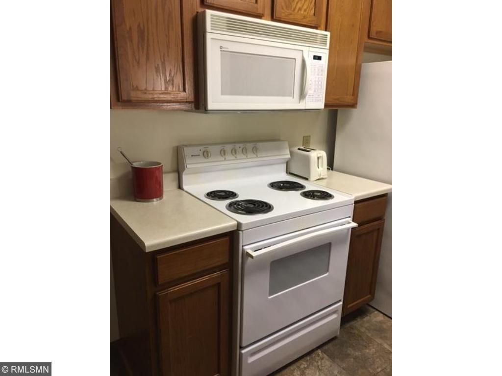 Kitchen with range and oven