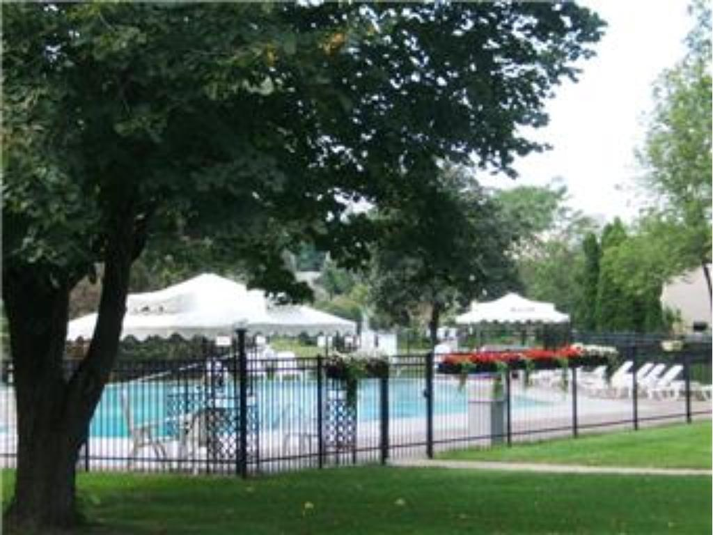 View of the outdoor pool.