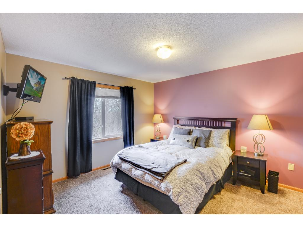 Upper level master bedroom!