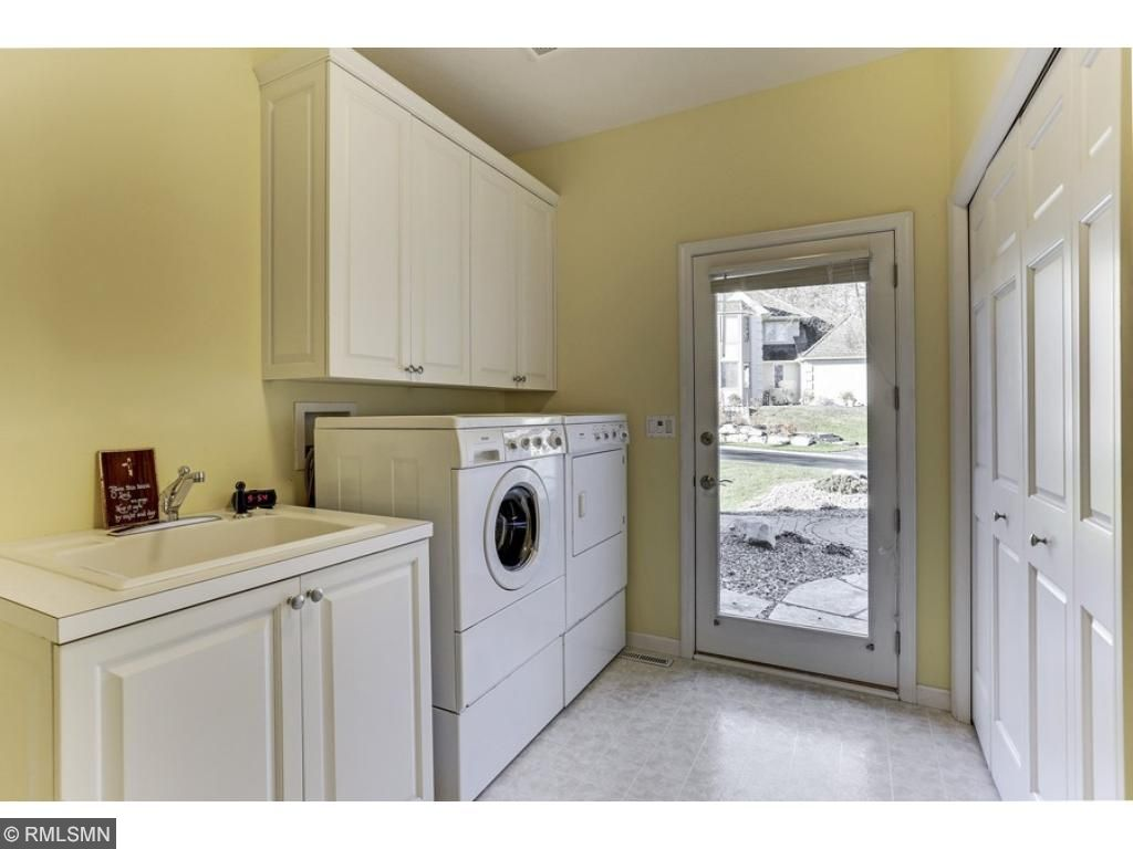 You'll appreciate having the laundry on the main level - with access to the 3-car garage and front yard.