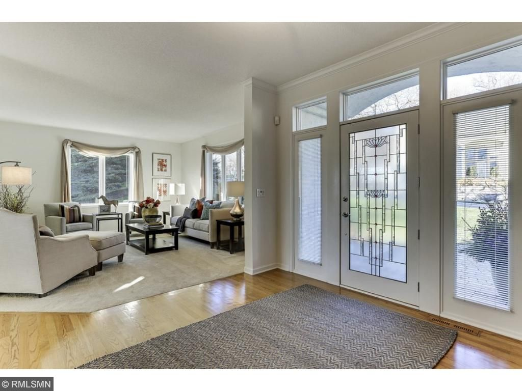 Spacious and welcoming foyer to greet family and friends!