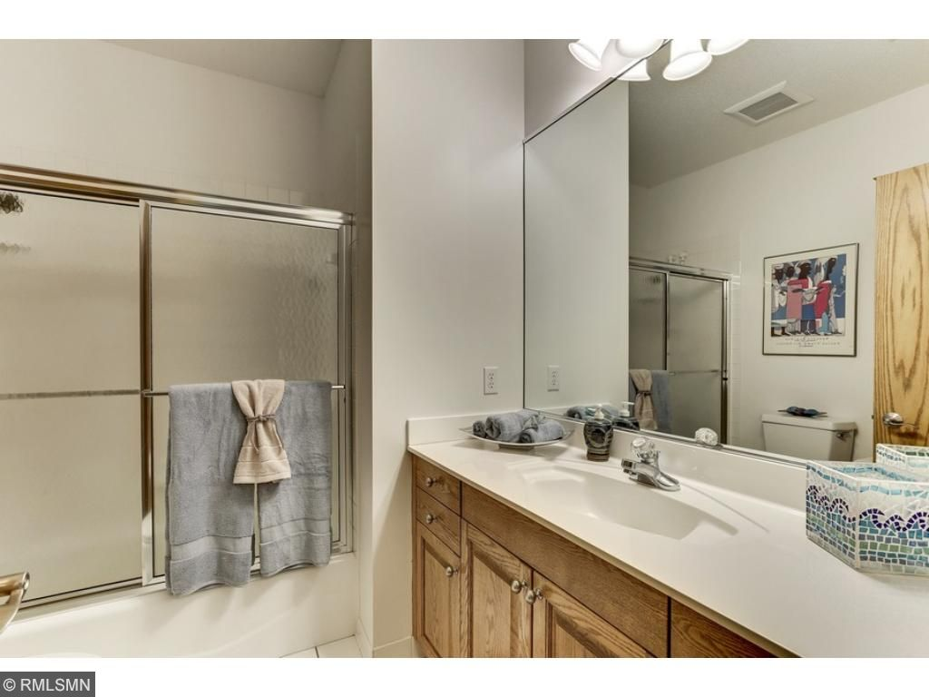 Another full bathroom is located on the lower level as well!