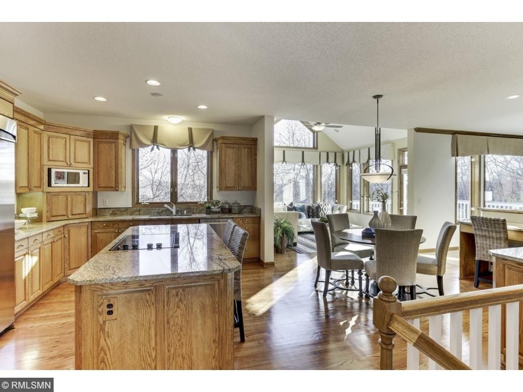 Open concept main level with well-appointed kitchen, and eat-in area!