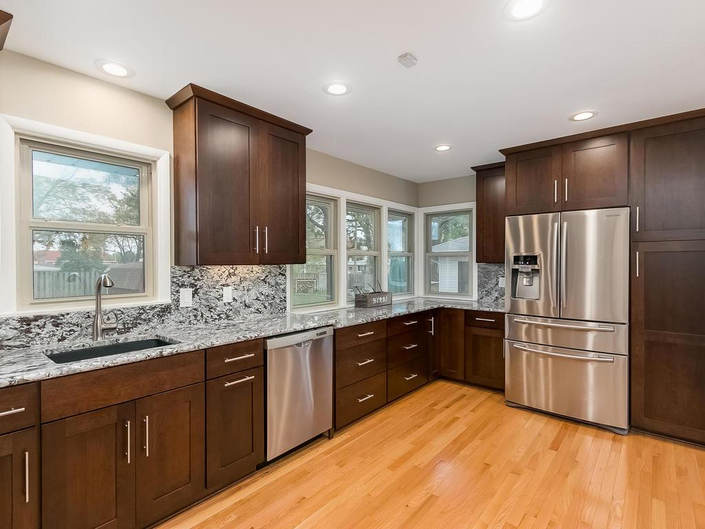 Completely updated with high end finishes and newer windows throughout. Ready to move in and enjoy.