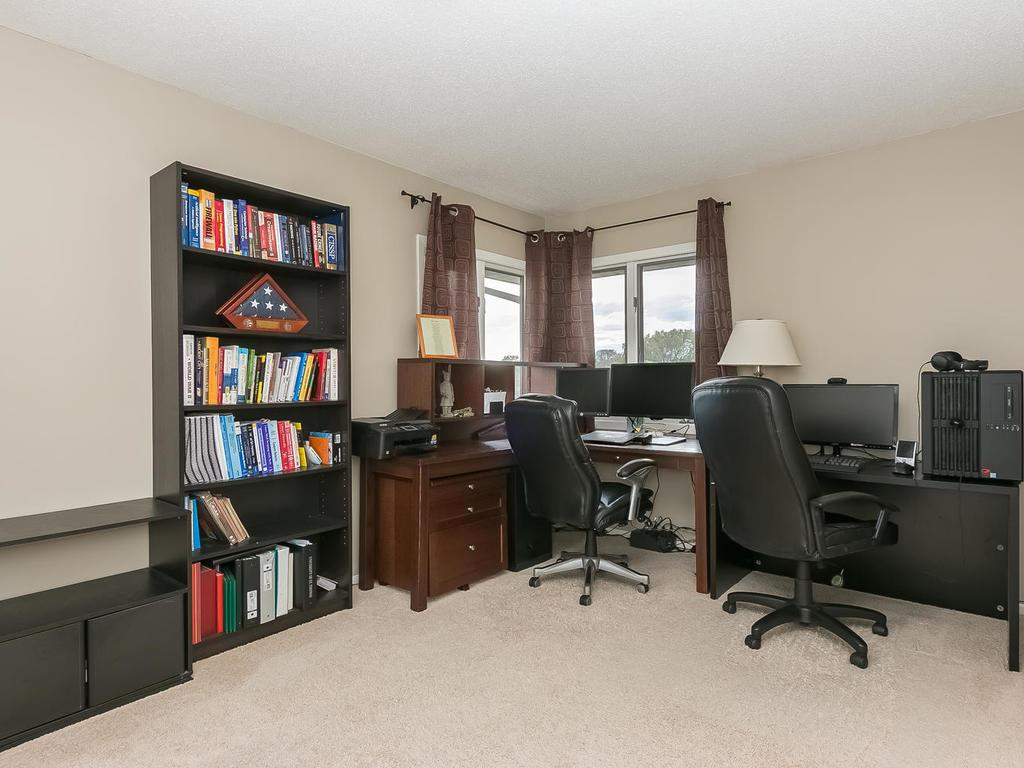 At-home office, playroom, or sitting area.