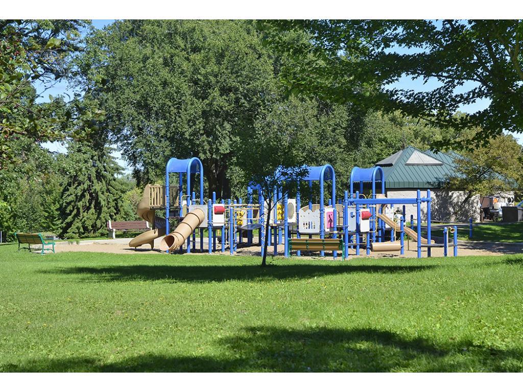 Playground at Cherokee Park.