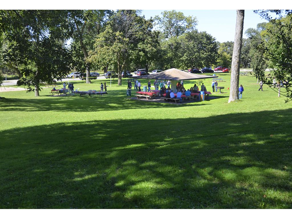 Cherokee Park is a large, regional park with two pavilions available to rent for large family/friend gatherings.