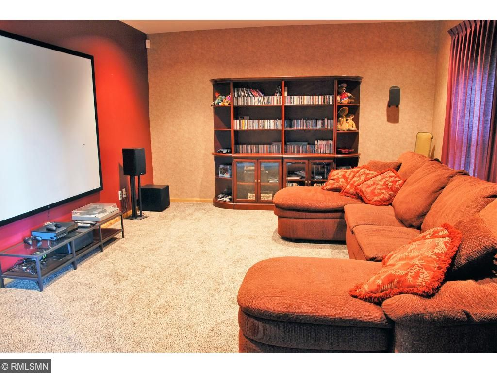 Home Theater room, system to remain if wanted