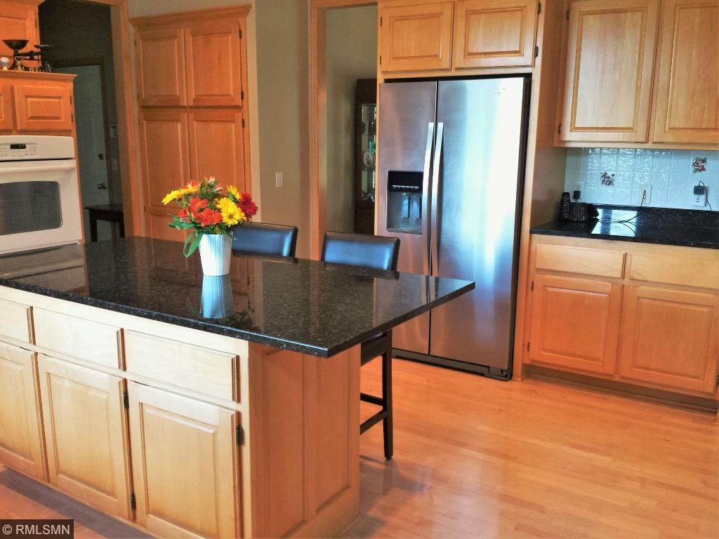 Granite, SS and custom cabinets