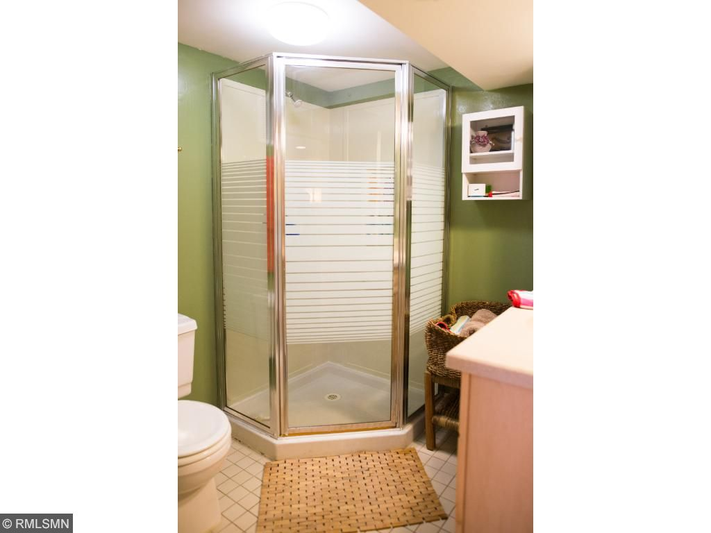 Basement Bath with Shower