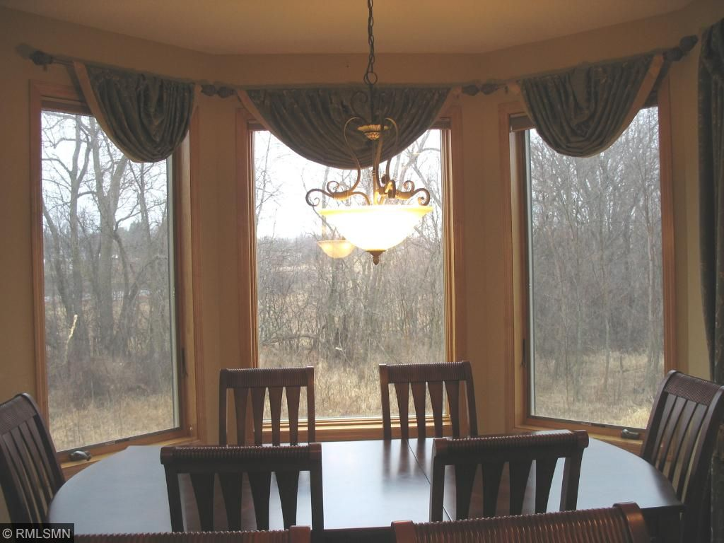 Dinning Room in 2nd level of turret tower.
