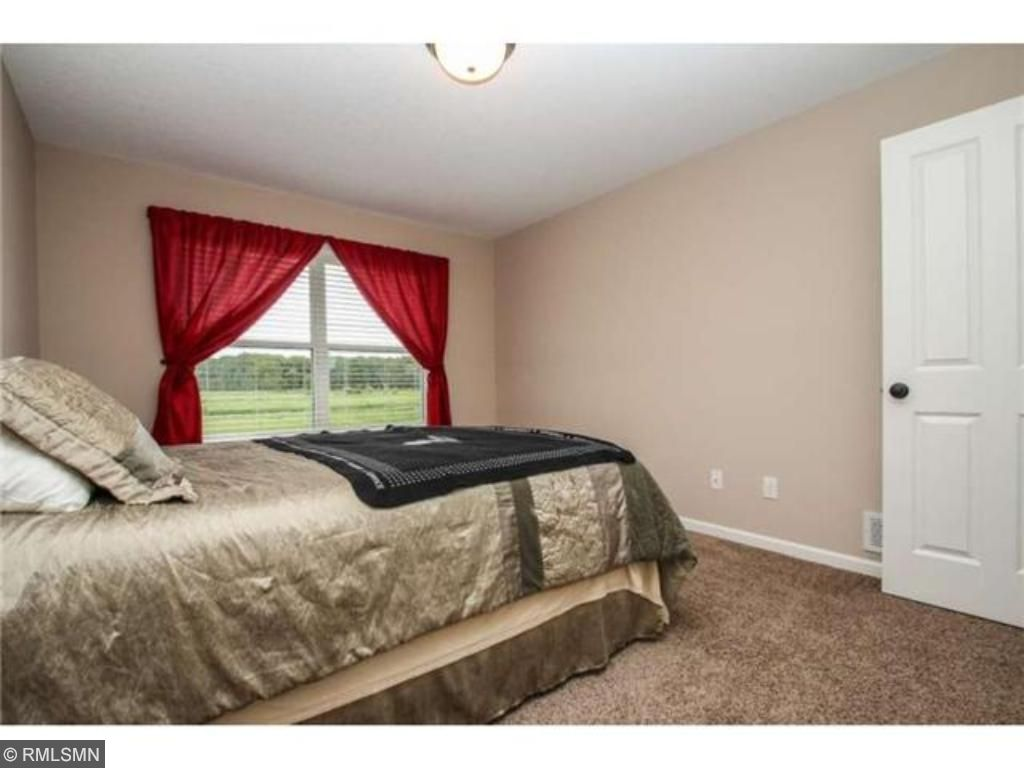 There are 4 spacious bedrooms on the upper level.