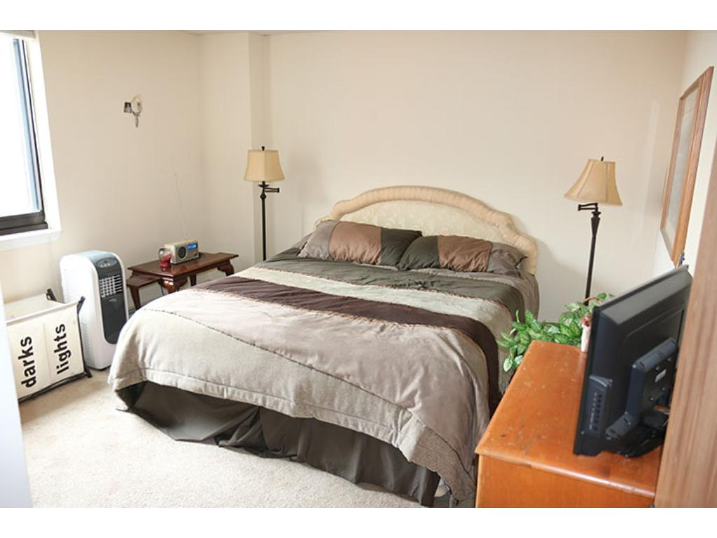 Large Bedroom with Room for a King Size Bed and More