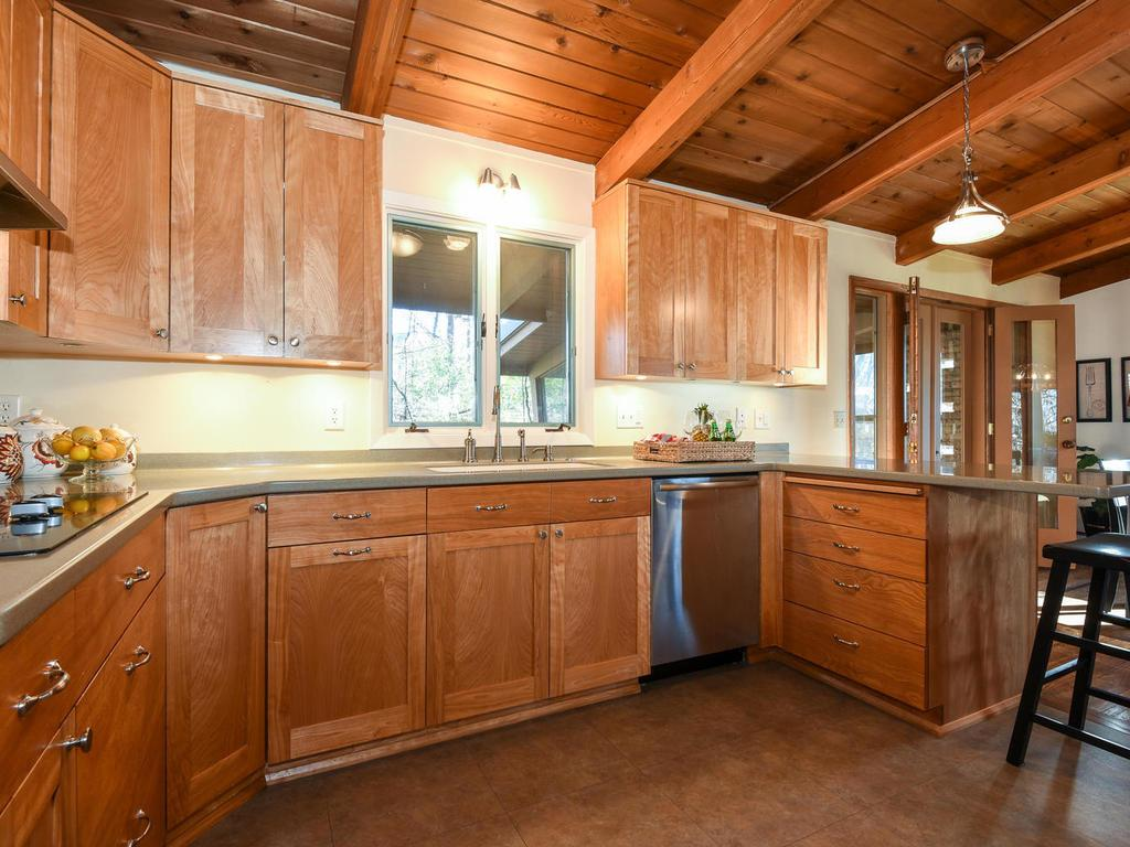 Updated kitchen matches the rest of the home seamlessly