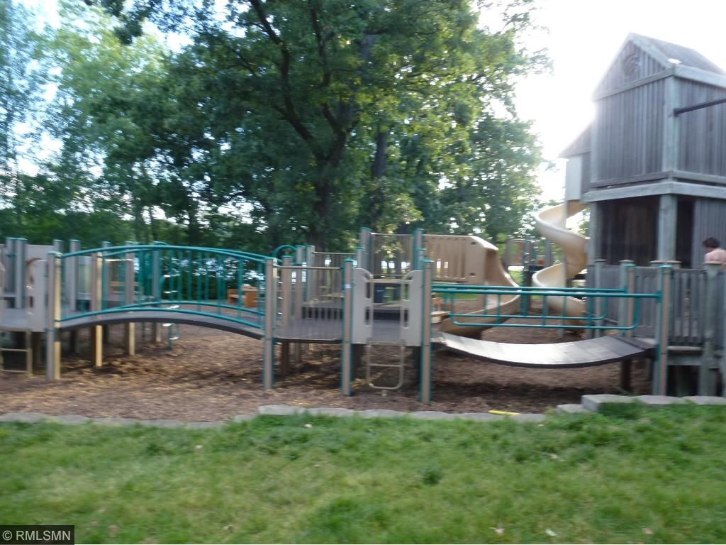 Play area for the kids at Bryant Lake