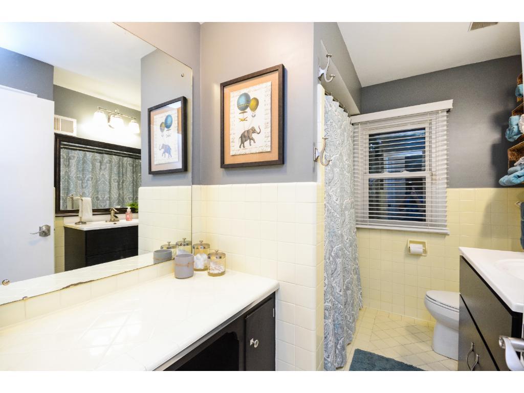 Nice Main Floor Full Hallway Bath