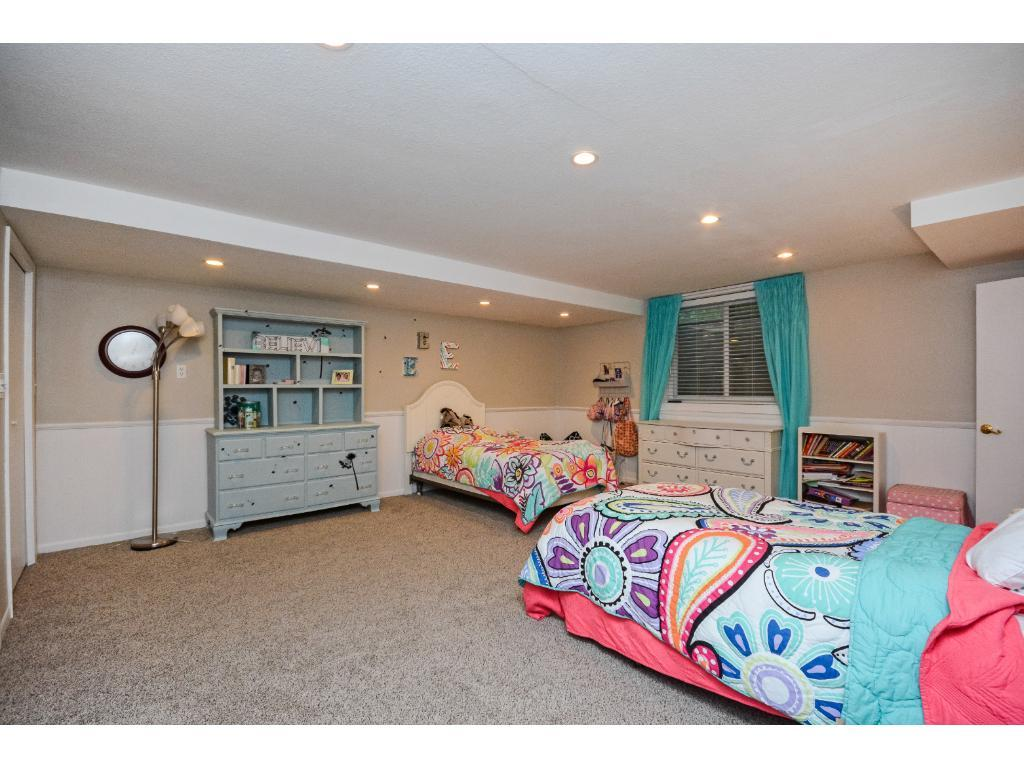 Huge Walkout Level 3rd Bedroom with a Walk thru Large 3/4 Bath