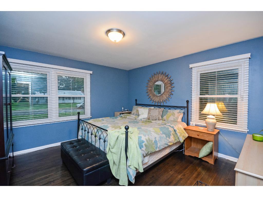 Nice Hardwood Floor in one of two main Floor Bedrooms