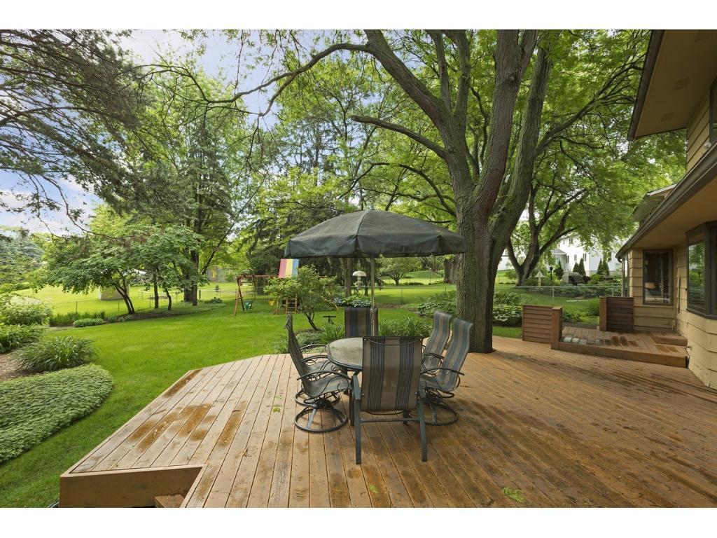 Enjoy this great backyard.