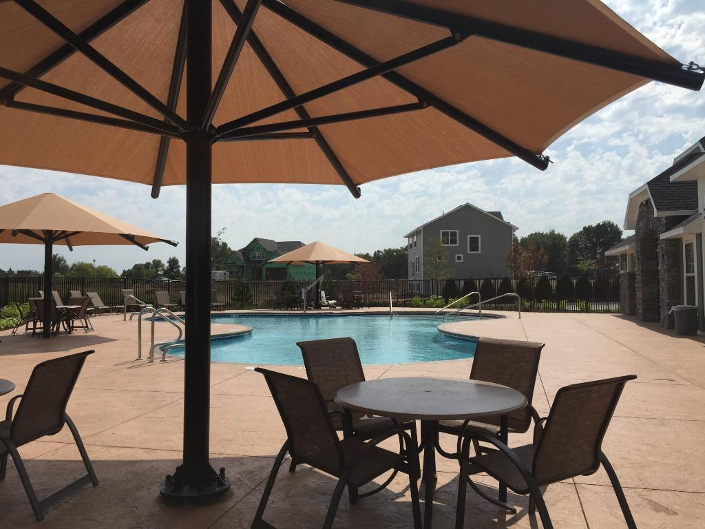 The Ravinia Association includes private pool and clubhouse. There are also trails throughout the community as well as two future city parks.