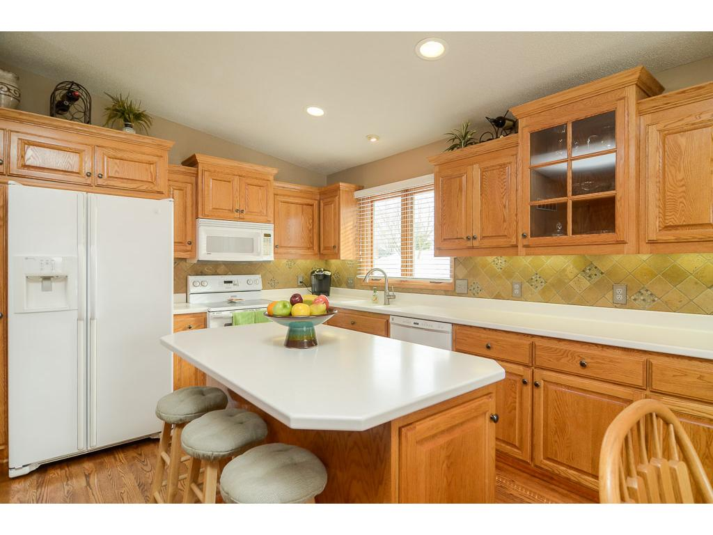 Kitchen Features Plenty Of Storage And Counter Space!