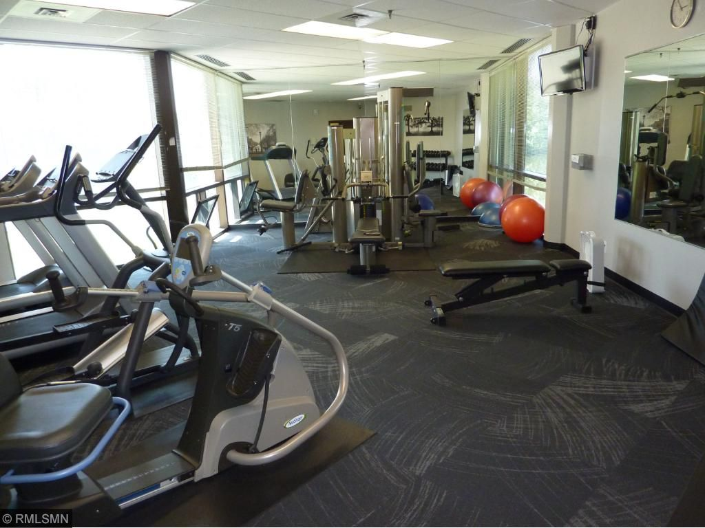 One of 3 exercise rooms