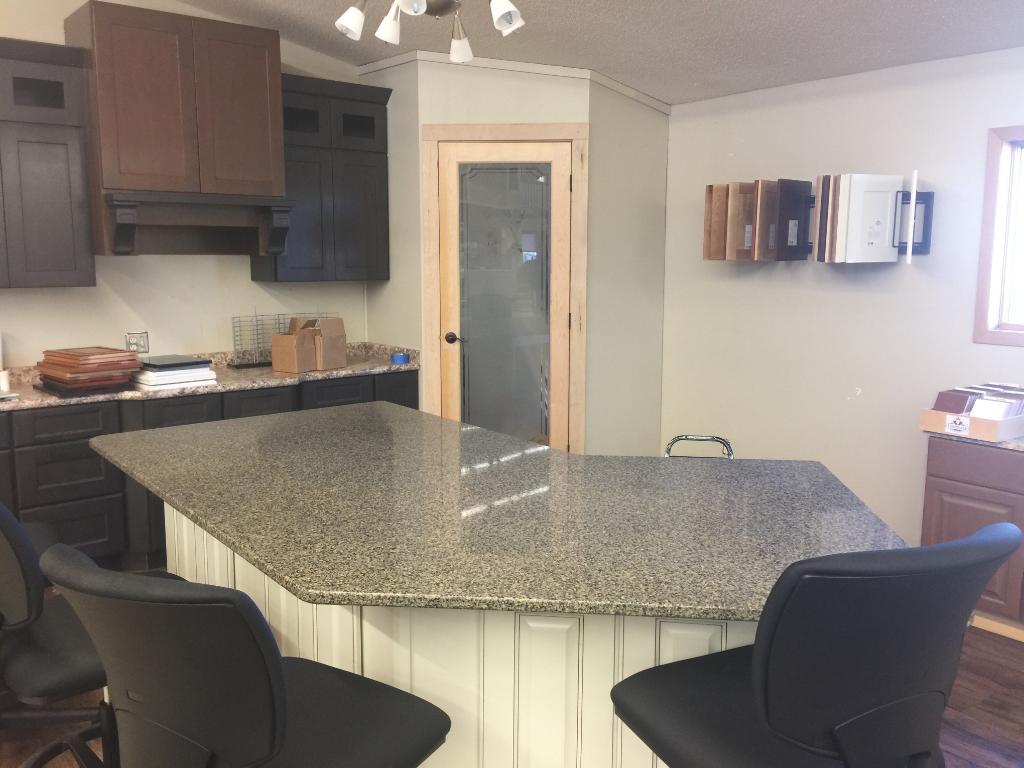 Office/showroom area