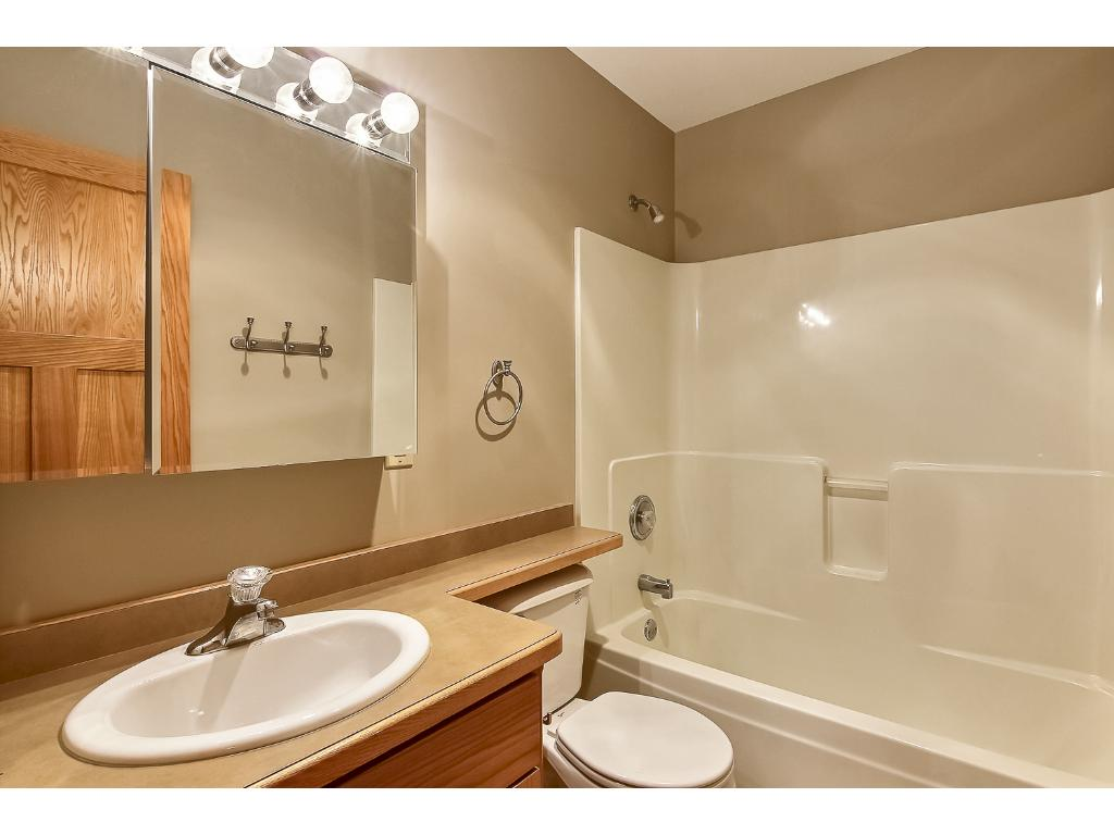 Full size guest bathroom