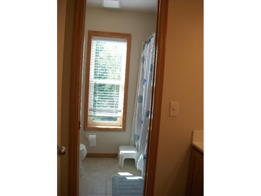 2nd. floor Bath with separated toilet & Tub/Shower.