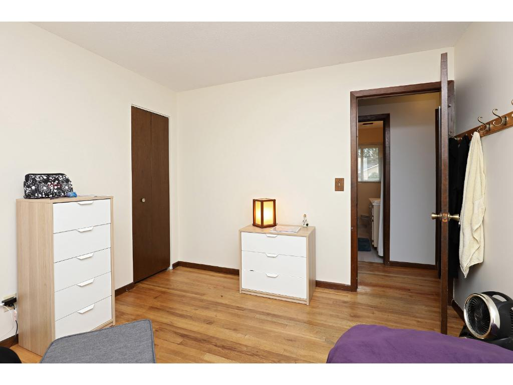All 3 Bedrooms Feature Beautiful Hardwood Floors and Ample Closet Space.