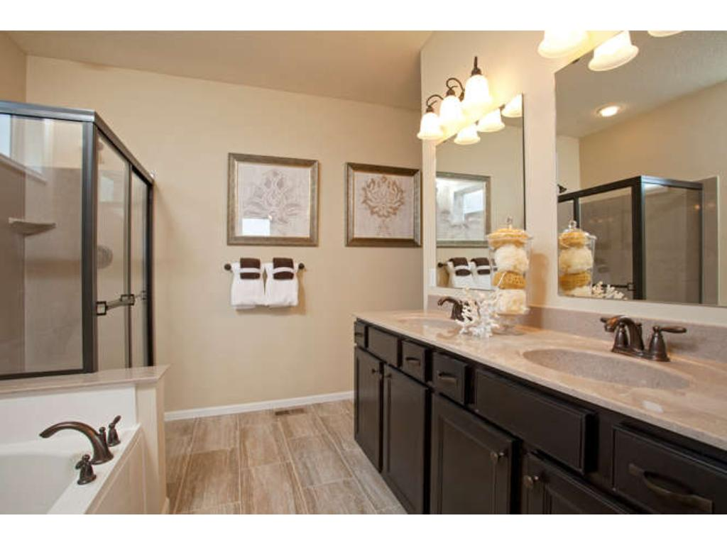 Photo of a Model - Owner's Bathroom Spa Style