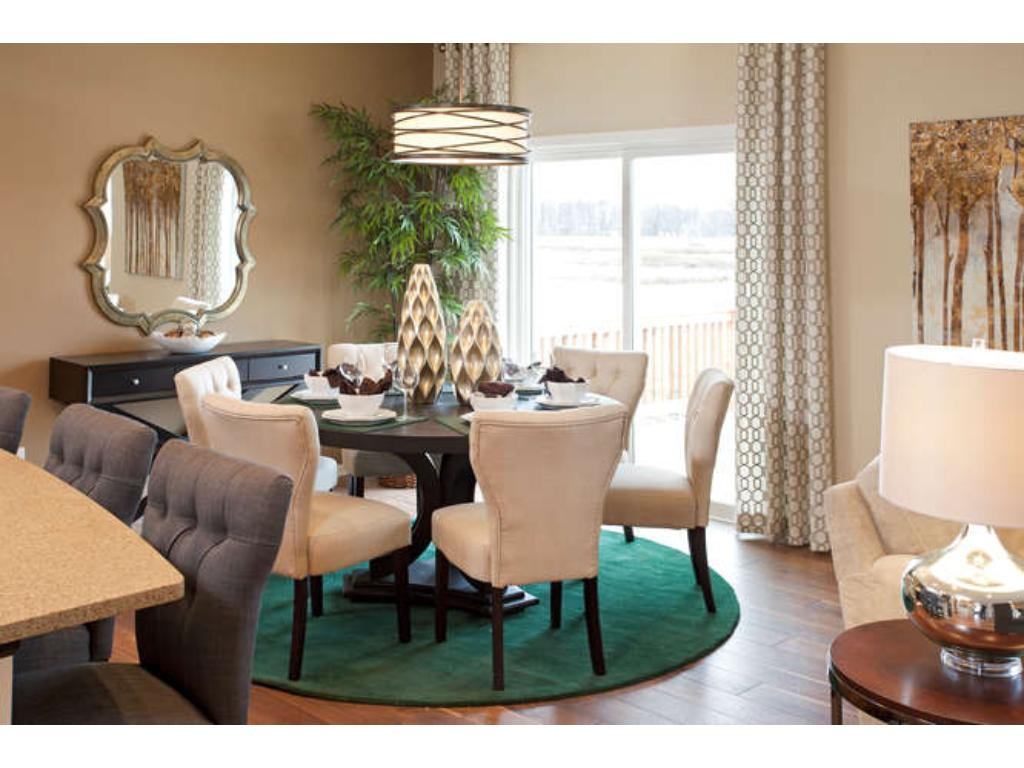 Photo of a Model - Informal Dining Room