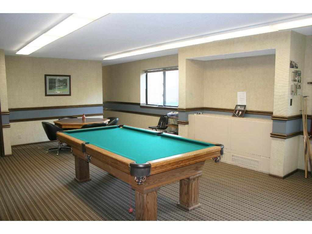 The billiard room can provide hours of entertainment!