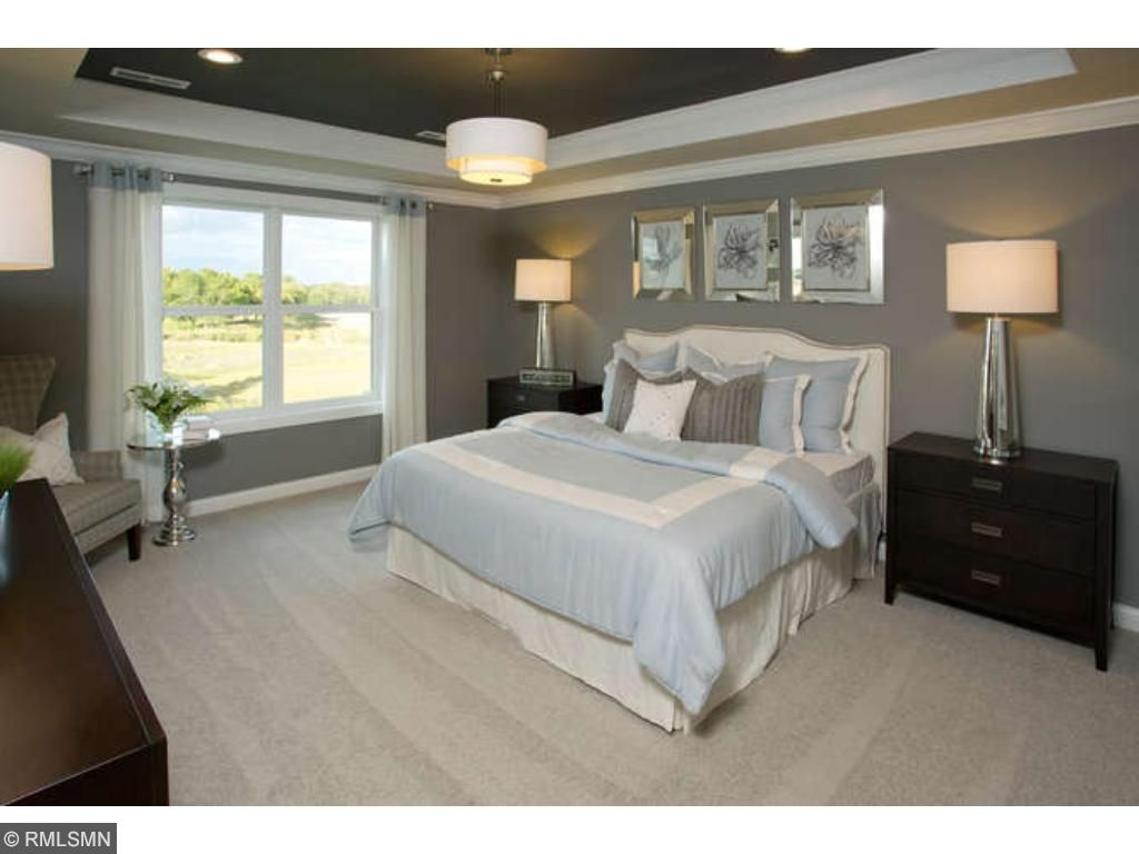 Large secondary bedrooms (model photo shown)