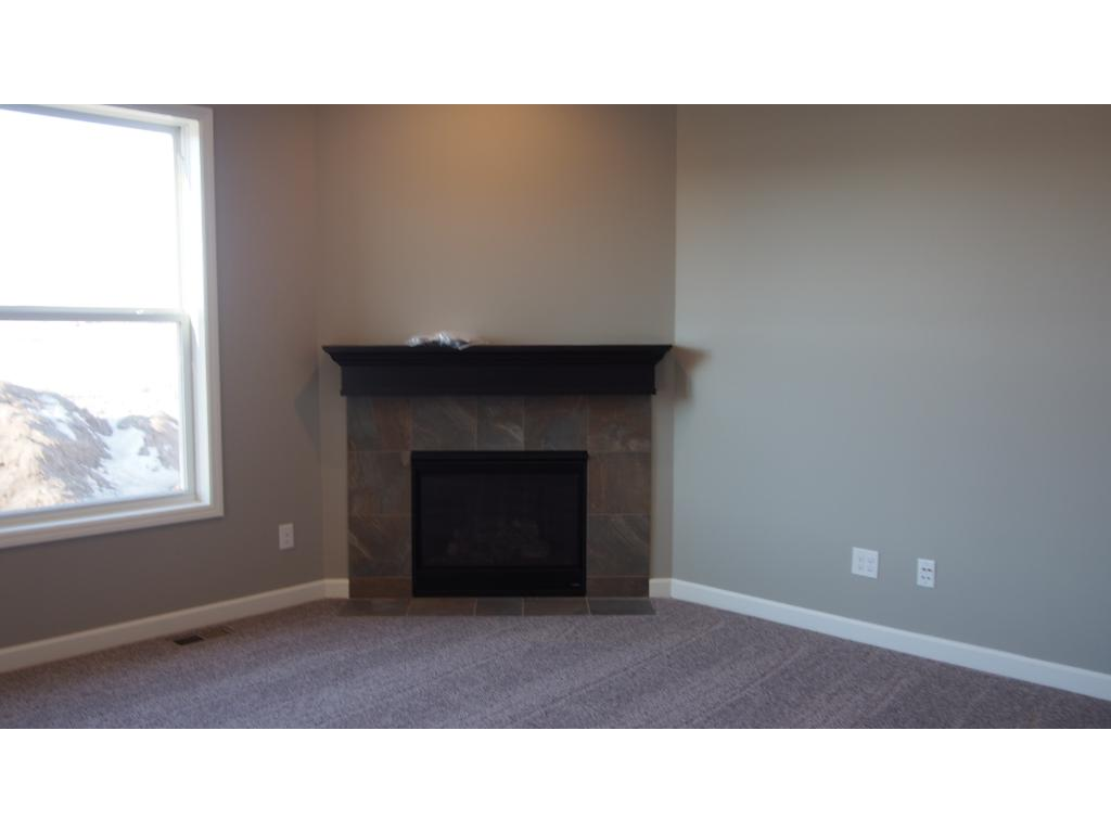 Picture of the model.  Flex room at the front of the home.  This can be used as a study, formal dining room or formal living room.