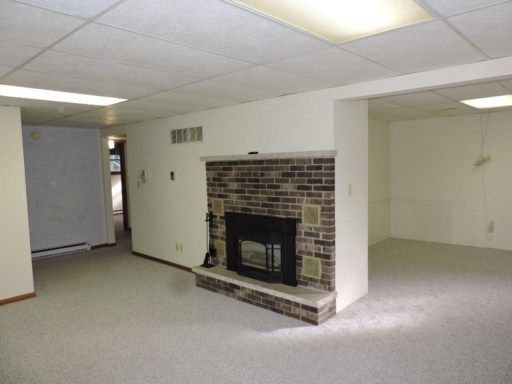 Large L-shaped family room.