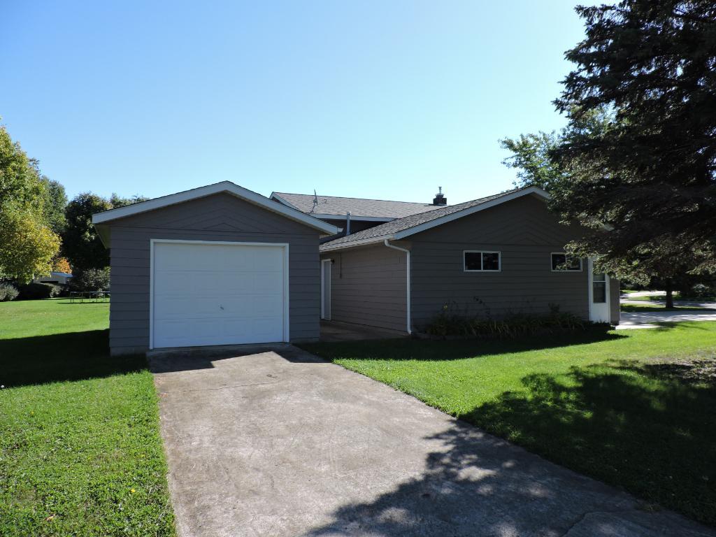 Additional 14X22 garage w/concrete driveway.