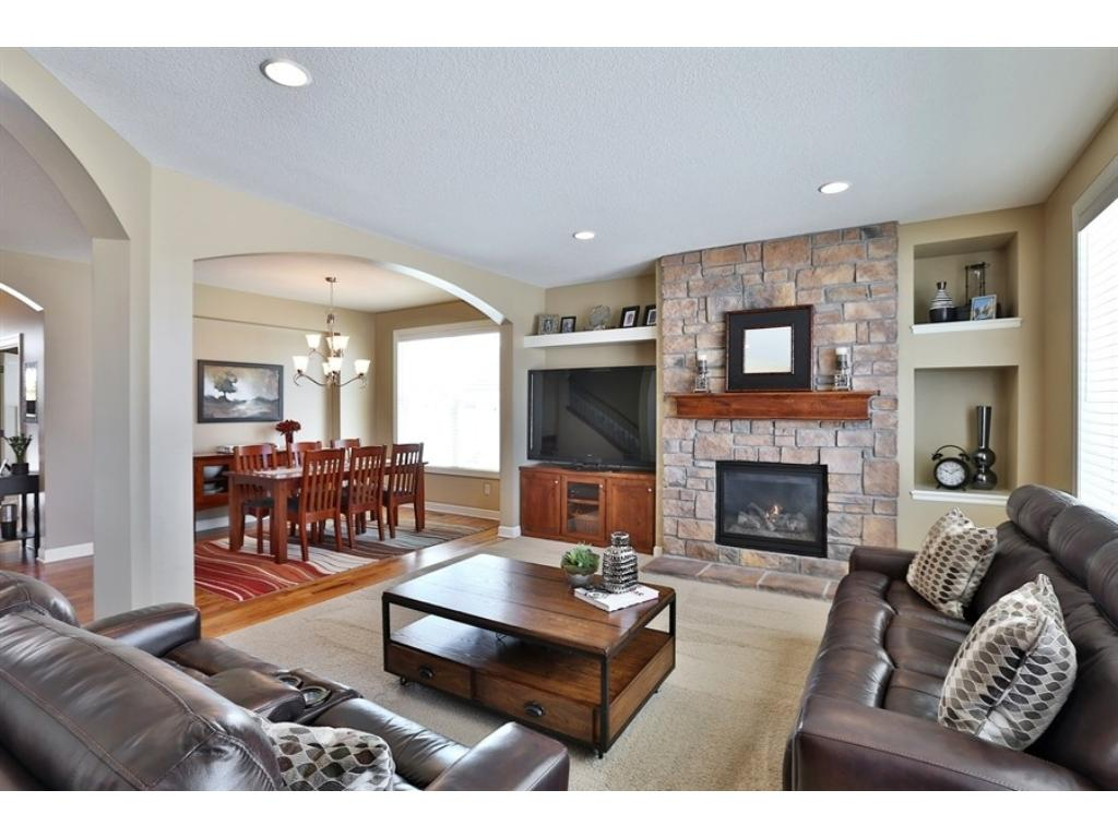 The Open And Spacious Main Floor Great Room/living Area Is A Wonderful Spot  For