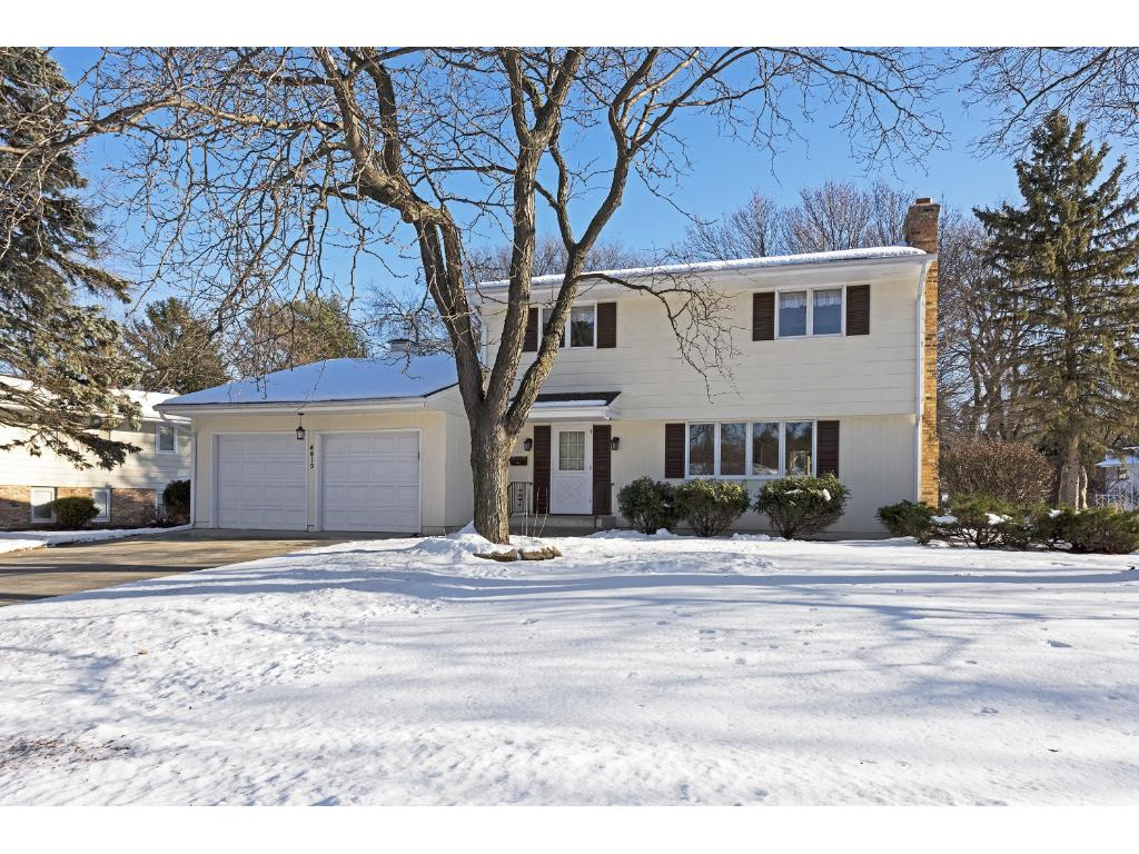 Welcome to 6813 Chapel Lane! Classic Edina two story with newly refinished hardwood floors!
