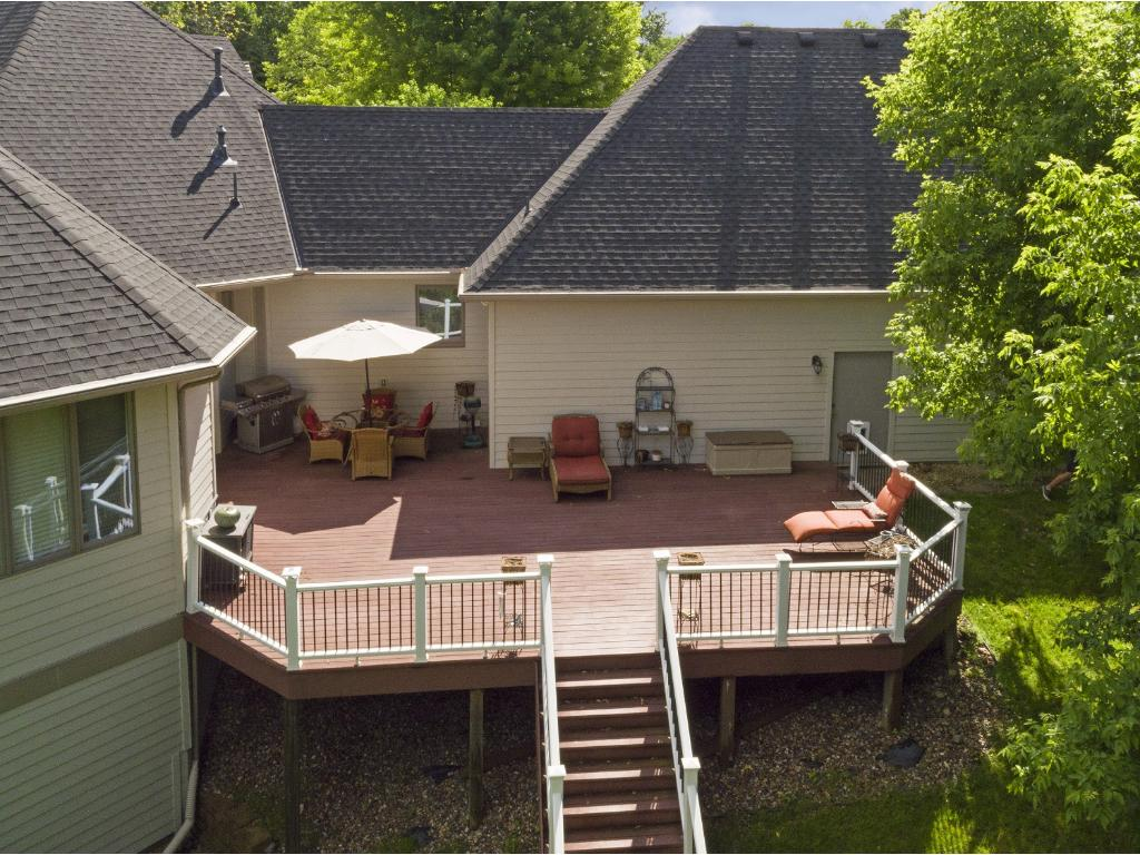 Here is a nice view of the deck from above.