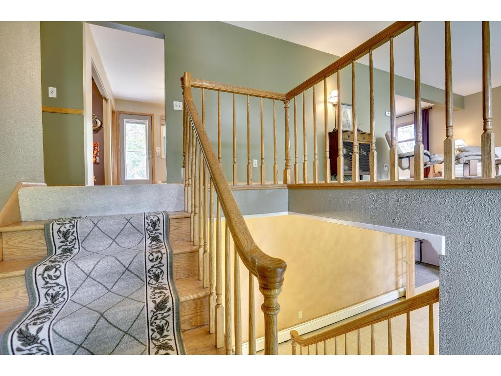 Tile entry, hardwood floors, well maintained home