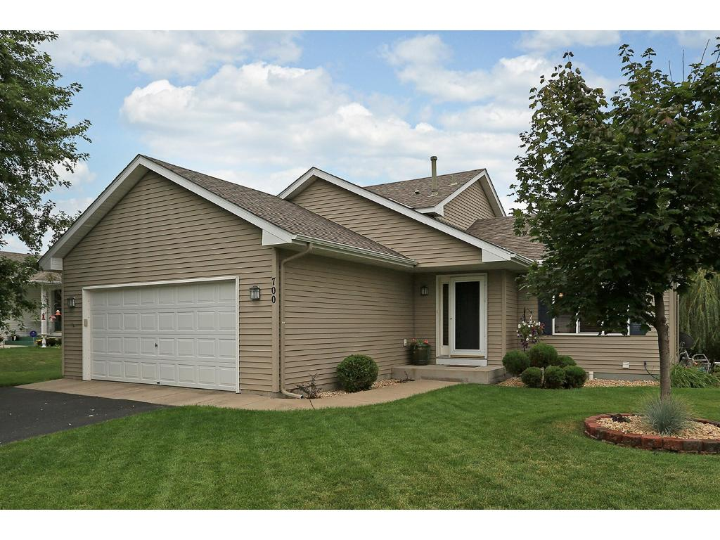 Great curb appeal! The most desirable type of split-level home...where you've got a large main level.