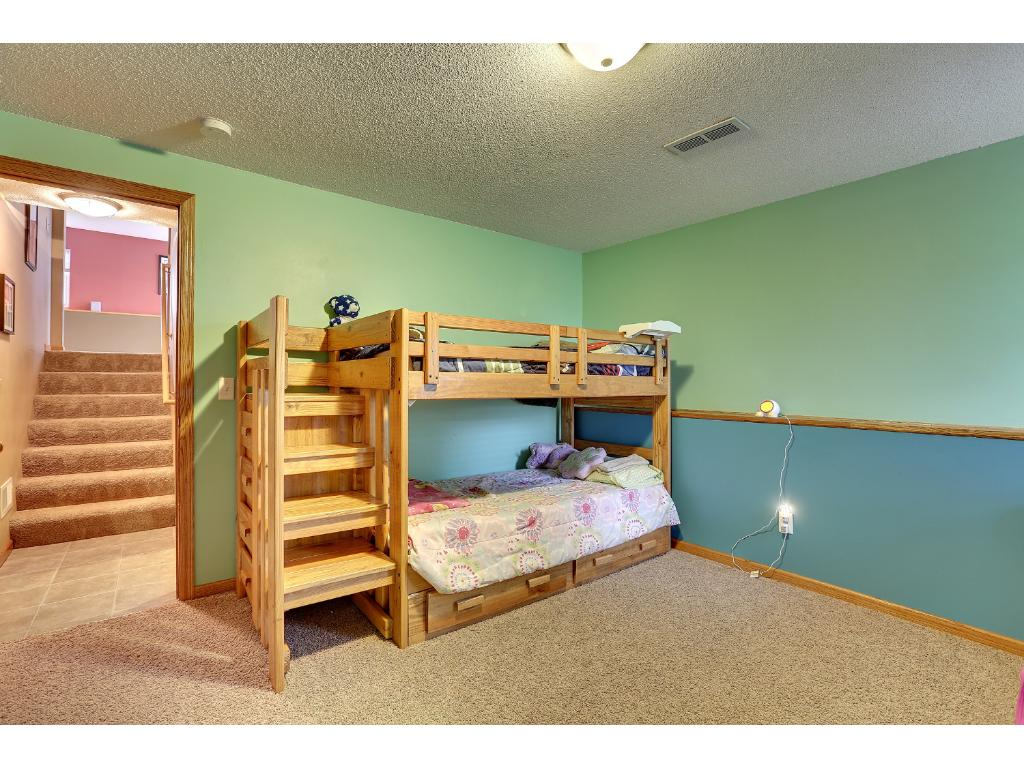 Large bedroom in 4th level.