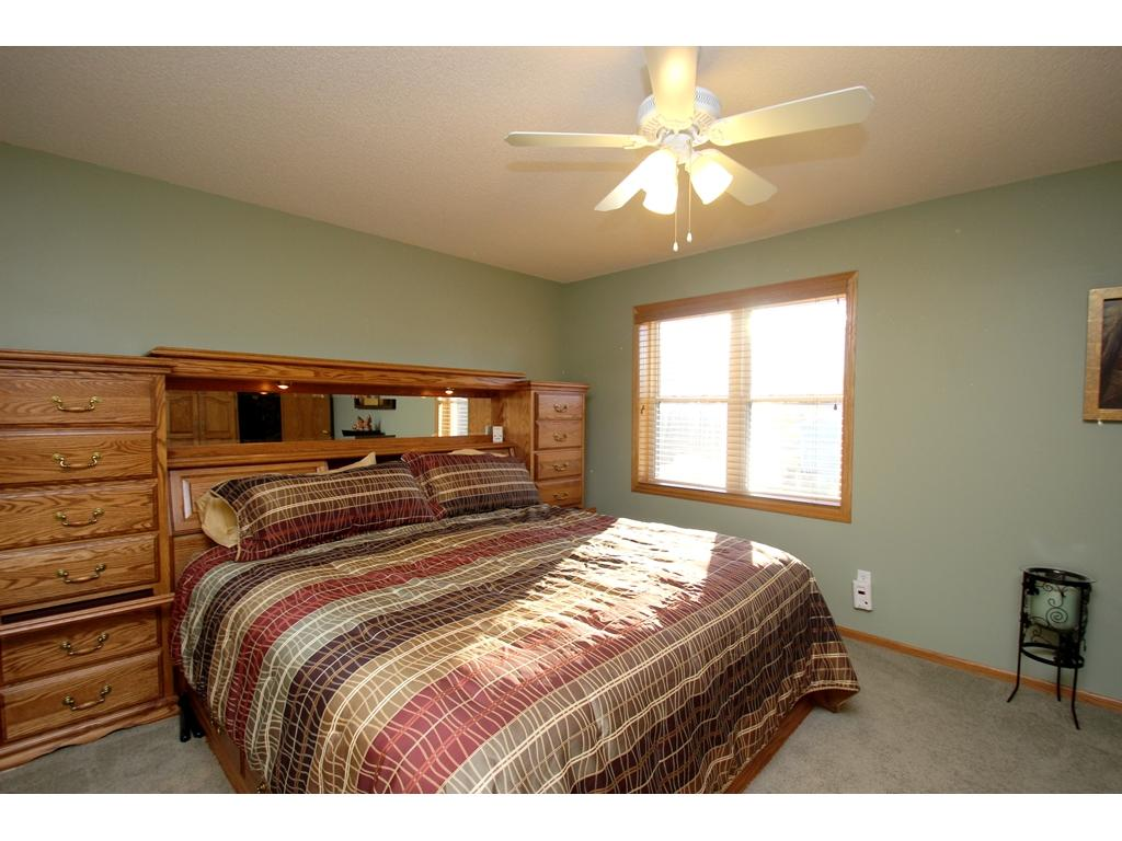 Upper level master bedroom with a walk-in closet!