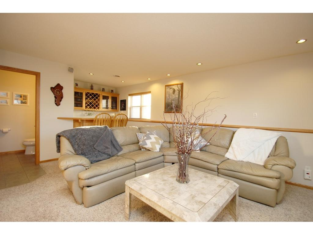 3/4 bath also located on the lower level!